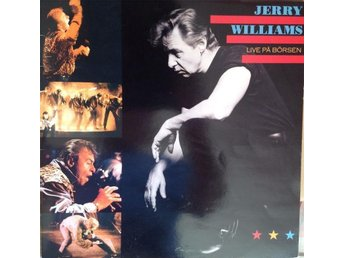 Jerry Williams LP Live På Börsen