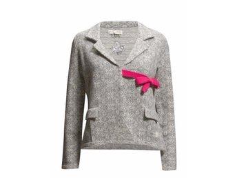 NY Odd Molly #233 lovely knit jacket stl 1 grey melange cardigan kofta grå - Skellefteå - NY Odd Molly #233 lovely knit jacket stl 1 grey melange cardigan kofta grå - Skellefteå