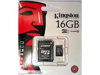 Kingston Micro SD-kort 16GB - Malmö - Kingston Micro SD-kort 16GB - Malmö