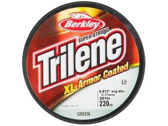 Berkley Trilene XL Armor Coated lina /6,3Kg/201Meter/0,38mm/Grön - Anderstorp - Berkley Trilene XL Armor Coated lina /6,3Kg/201Meter/0,38mm/Grön - Anderstorp
