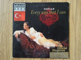 SERTAB Every way that I can Eurovision 2003 Turkiet CD Singel