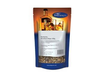 Whiskyspån Kentucky Bourbon Chips 100g