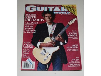 KEITH RICHARDS - ROLLING STONES - GUITAR WORLD