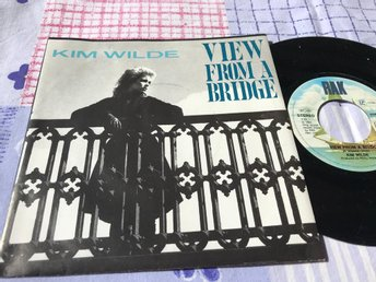 "KIM WILDE - VIEW FROM A BRIDGE 7"" 1982"