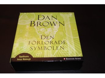 CD-bok: Den förlorade symbolen - Dan Brown