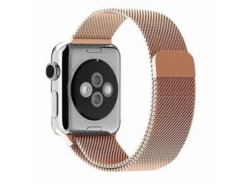 Milanese Loop 42/44mm Apple Watch Armband - (ROSE GOLD)