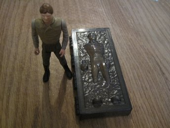 Star Wars Han Solo nedfryst i carbonite