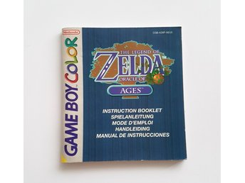 Zelda Oracle of Ages MANUAL