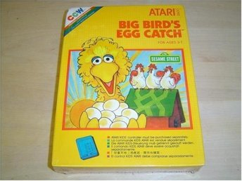 BIG BIRDS EGG CATCH ATARI 2600 *NYTT*
