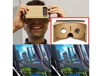Android Virtual Reality Glasögon VR Cardboard Viewing Glasses