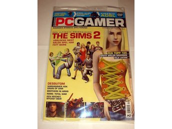 PC GAMER 93 NY m DVD SEPT 2004  THE SIMS 2   I ORIGINALPLAST