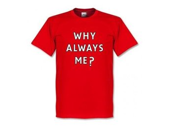 Liverpool T-shirt Balotelli Why Always Me XL
