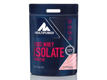 100% Whey Isolate Strawberry Splash 1590g