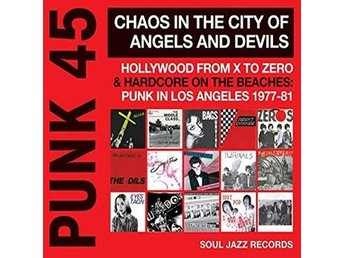 Punk 45 - Chaos In The City of Angels And Devils (CD) Ord Pris 169 kr SALE