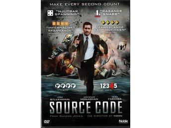 Source Code - Sci-Fi-Thriller med Jake Gyllenhaal - DVD - Lund - Source Code - Sci-Fi-Thriller med Jake Gyllenhaal - DVD - Lund