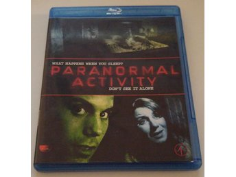 Paranormal Activity! Svensk Undertext! Blu-ray!