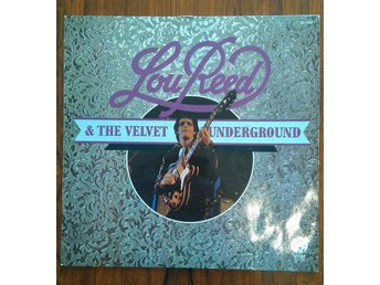 LP, LOU REED - LOU REED & THE VELVET UNDERGROUND