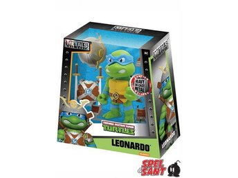 Metals Die Cast 15cm Turtles Leonardo Figure