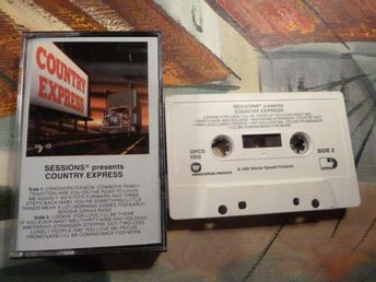 SESSIONS PRESENTS COUNTRY EXPRESS, LOOKIN´ FOR LOVE, 1981, KASSETT, KASSETTBAND