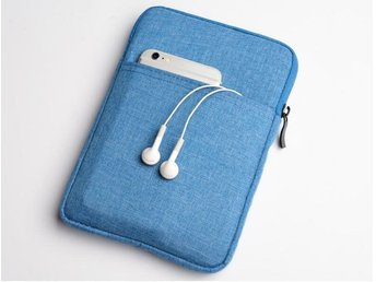 Canvas iPad Bag - 2/3/4, Blue