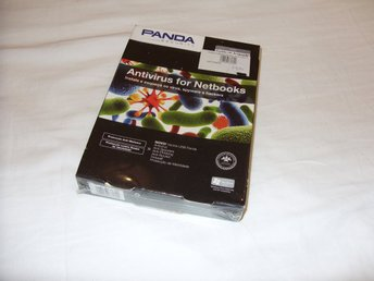 Panda Antivirus for Netbooks 2010 1 PC dator 1 år Ny! Antivirus Windows XP