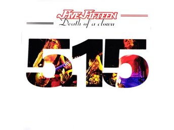 FIVE FIFTEEN 'Death Of A Clown' 2001 Prog-Rock CD