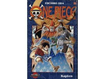 One Piece #35 - Kapten (Beg)