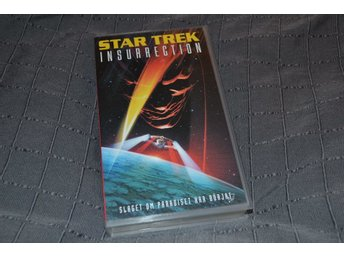 Star Trek 9 Insurrection 1998 VHS Film Svenskt Text