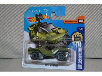 UNSC Warthog fr. HALO Hot Wheels 2017 HW Screen Time 1/10 Microsoft Ny