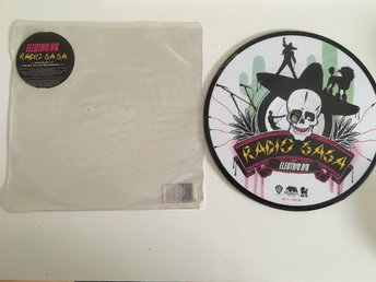 ELECTRIC SIX / RADIO GA GA (QUEEN COVER ) PICTURE DISC VINYL.