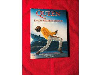 QUEEN LIVE AT WEMBLEY STADIUM 25 TH ANNIVERSARY EDITION 2 DVD + 2 CD BRA SKICK