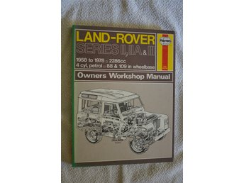 Land-Rover 1958-1978 4 cyl bensin