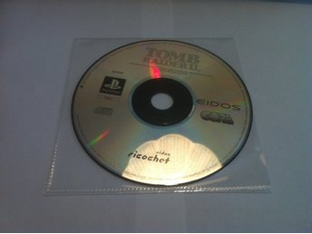PS1: Tomb Raider II (2) - Dagger of Xian (Enbart skivan)
