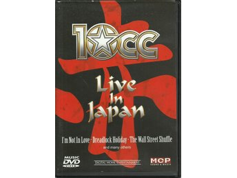 10cc / 10 cc - LIVE IN JAPAN (DVD)