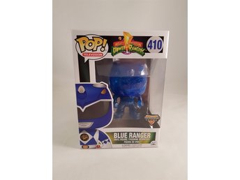 POP! Vinyl - Power Rangers - Blue Ranger Exclusive av Funko