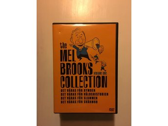 Mel Brooks collection Vol.1/4-disc/4 filmer