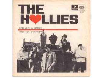 "HOLLIES - King Midas In Reverse  7"" Singel  Sverige"