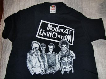 Moderat Likvidation T-shirt, Skeleton Group