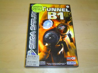 Tunnel B1 Sega Saturn PAL *NYTT*