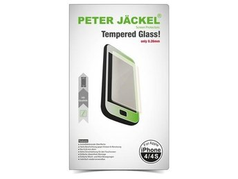 Tempered Glass for Apple iPhone 4 / 4s PETER JÄCKEL HD ON2529