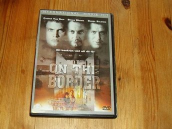 ON THE BORDER  SVENSK TEXT DVD I BRA BEG SKICK