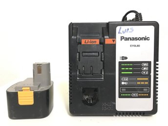 Panasonic EYOL80 Batteriladdare Original - Karlstad - Panasonic EYOL80 Batteriladdare Original - Karlstad
