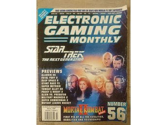 Electronic gaming monthly - Star Trek TNG, March 1994