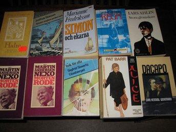 10 st Pocketböcker från olika decenier och författare - Domsjö - 10 st Pocketböcker från olika decenier och författare - Domsjö