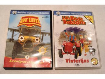 DVD Brum & Lilla Röda Traktorn Barn - Mölndal - DVD Brum & Lilla Röda Traktorn Barn - Mölndal