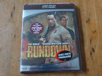 THE RUNDOWN (HD DVD) Inplastad