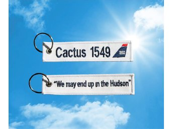 US Airways Flight Cactus 1549 Nyckelring