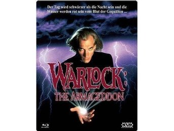 Warlock 2 Armageddon 1993 - Limited Futurepak Steelbox 3D Cover - Julian Sands