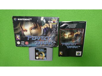 Perfect Dark KOMPLETT N64 Nintendo 64