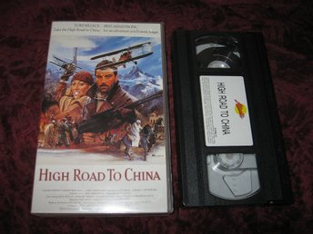 HIGH ROAD TO CHINA (TOM SELLECK,BESS ARMSTRONG) VHS